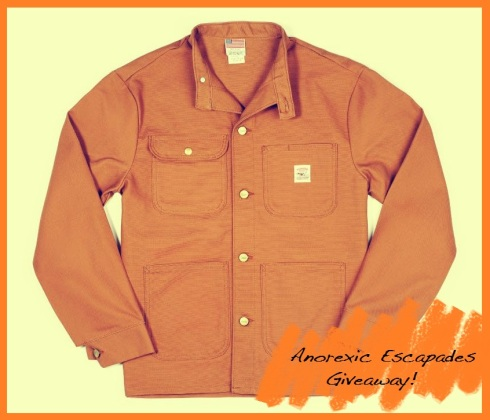 Banded Collar Jacket - Brown Duck
