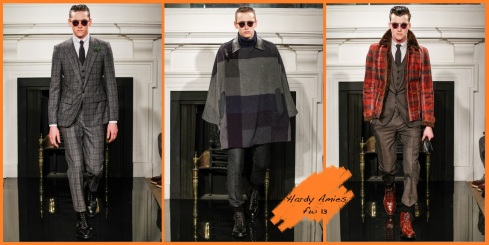 Hardy Amies FW 13 London