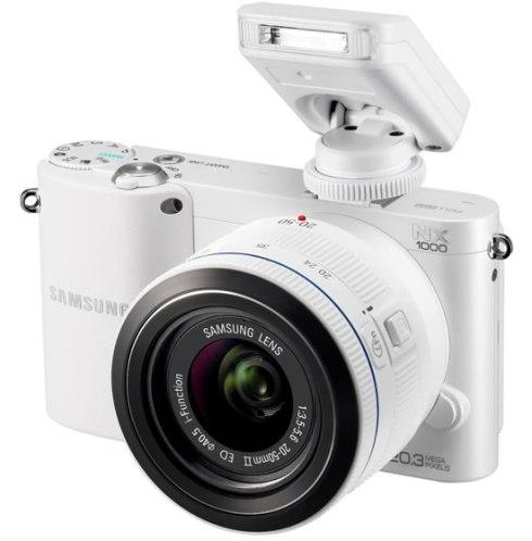 Samsung - 20.3 Megapixel Mirrorless Camera