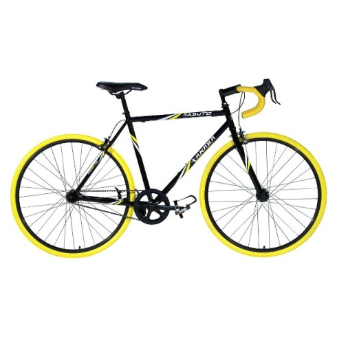 Takara Men's Kabuto 23 Road Bike - BlackYellow
