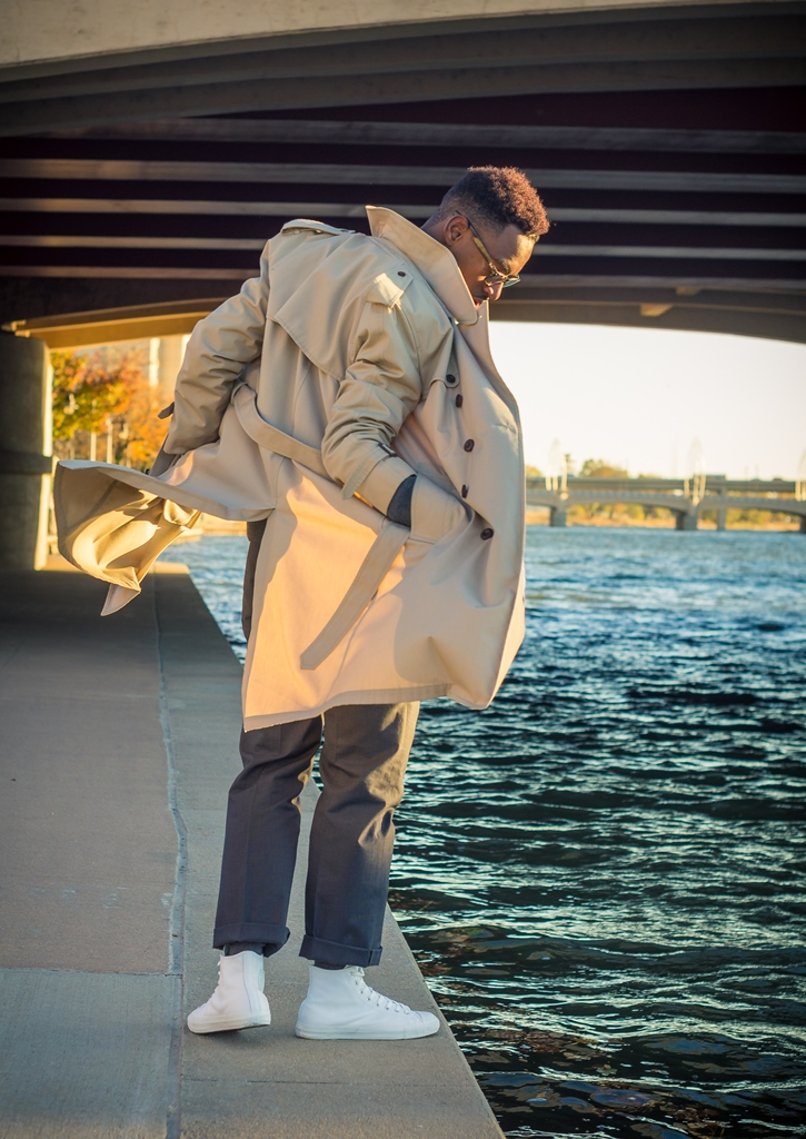 how to take in a coat that is too big