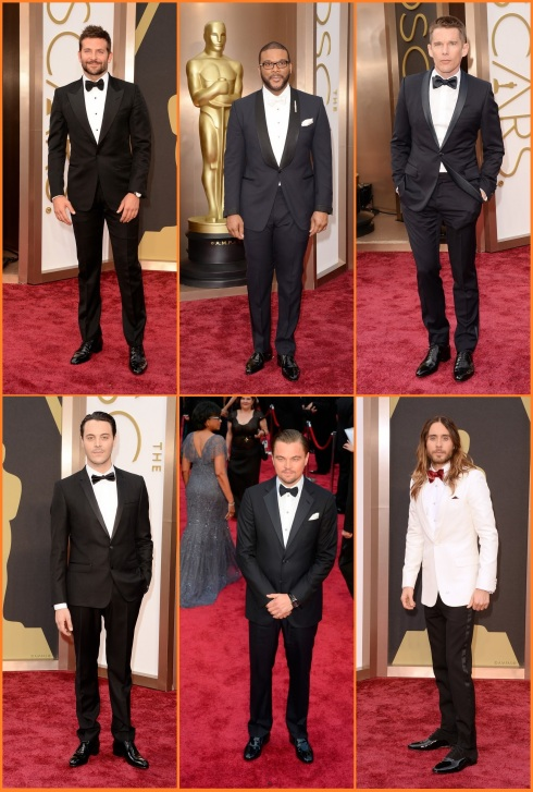 Oscar 2014 Almost Dressed Men