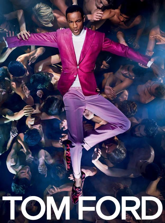 Tom Ford-Conrad Bromfield Male Advertisements In Magazines
