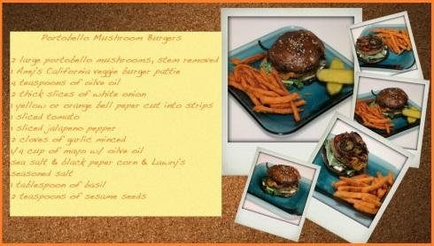 Portobello Mushroom Burger  (1)