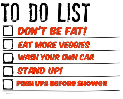 Skinny To Do List