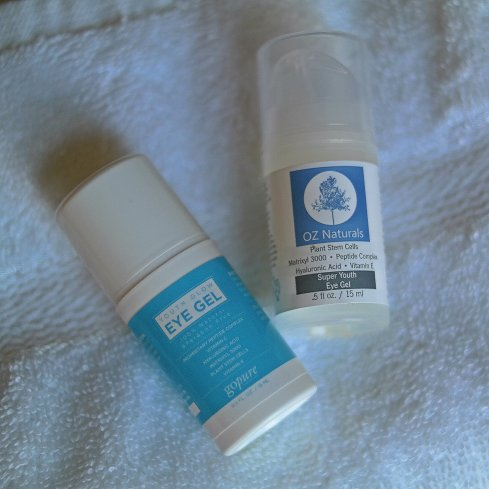 Oz Natural & goPure Eye Gel