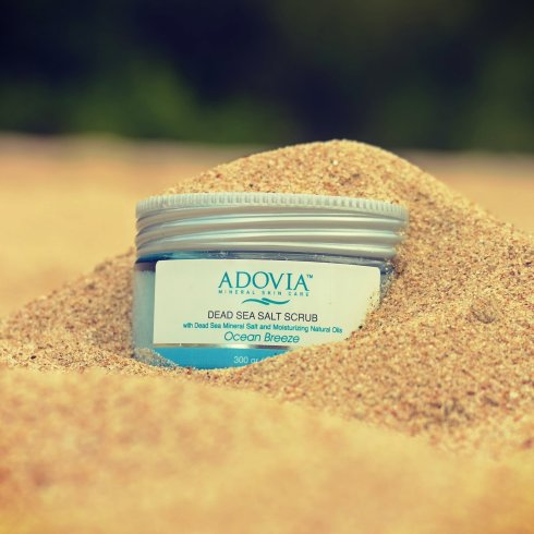 Adovia Dead Sea Salt Scrub 2